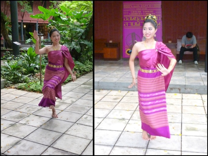 Dança Tailandesa. Thai dance.