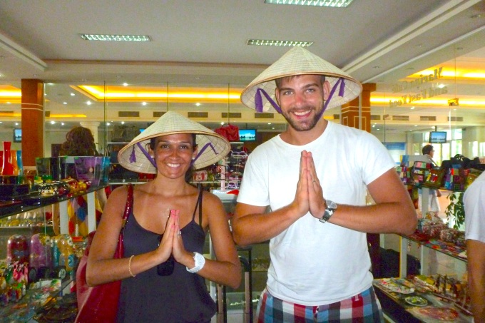 Bem vindos ao Vietnam Welcome to Vietnam