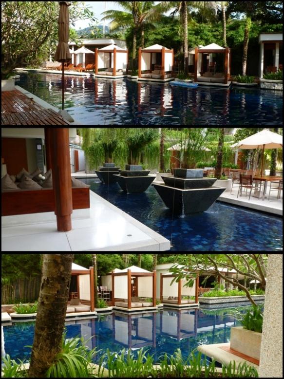 Chegamos em Phuket. O nosso hotel era uma delícia. Chava Resort. Lindo. We arrived in Phuket. Our Hotel was amazing. Chava Resort. Beautiful.