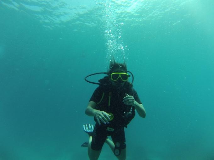 Hora de mergulhar com cilindro. PAIXÃO!!! Scuba diving time. PASSION!!!