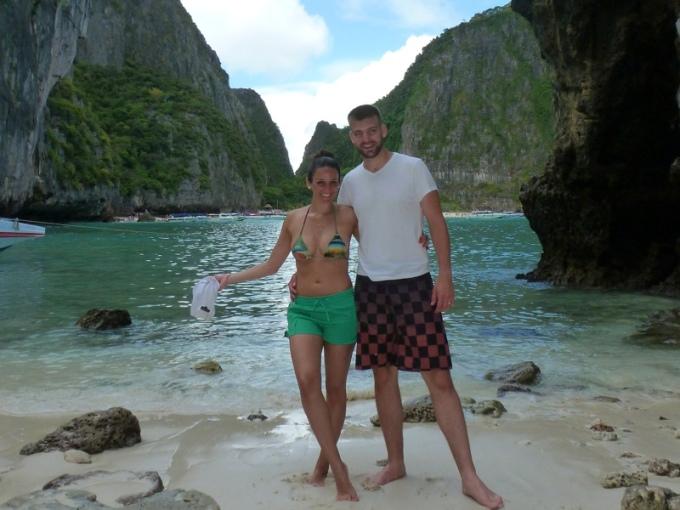 """Curtindo """"A praia""""... rsrs Enjoying """"The beach""""... lol"""
