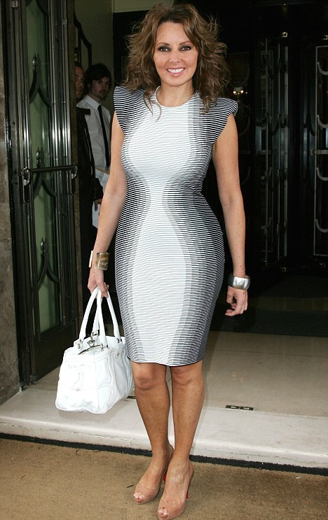 Carol Vorderman by Stella Mccartney