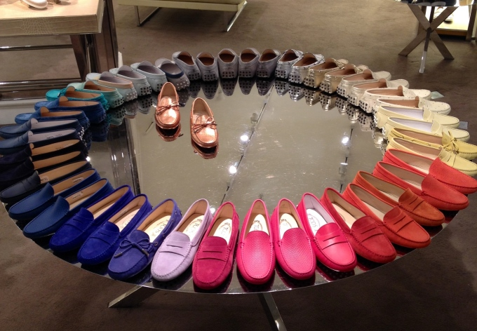 Love Tod's display! Adorei o display da Tod's