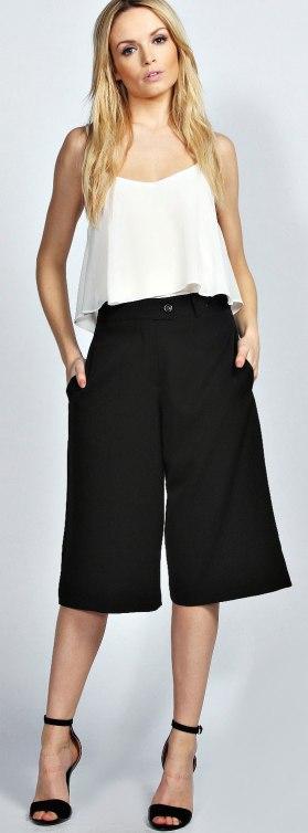 Culotte Midi Skirt 1