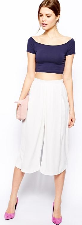 Culotte Midi Skirt 12