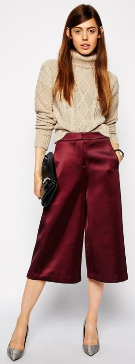 Culotte Midi Skirt 3