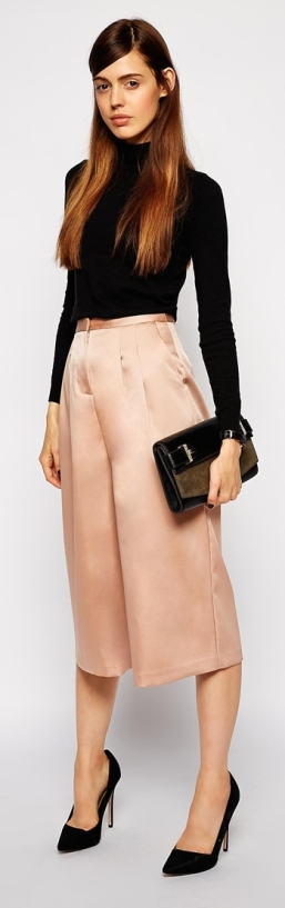 Culotte Midi Skirt 4