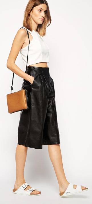 Culotte Midi Skirt 5