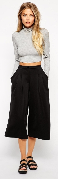 Culotte Midi Skirt 6