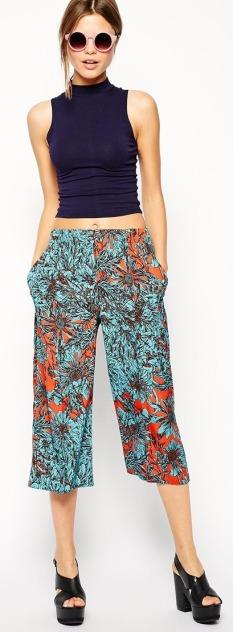 Culotte Midi Skirt 7
